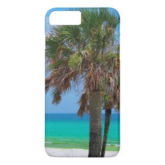 USA, Florida. Palm Trees On Emerald Coast iPhone 7 Plus Case