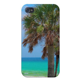 USA, Florida. Palm Trees On Emerald Coast Case For iPhone 4
