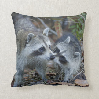 USA, Florida, Sanibel, Ding Darling National Throw Pillow