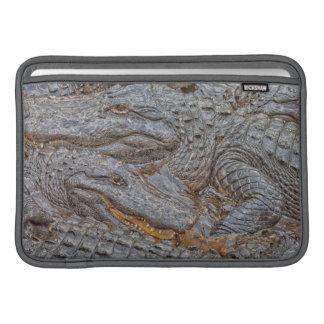 USA, Florida, St. Augustine, Alligators 2 MacBook Air Sleeve