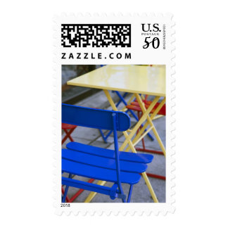 USA, Florida, Tampa, Channelside complex, cafe Postage