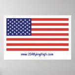 USA flying HIGH Print