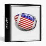 USA Football (1) Tear Away 3 Ring Binder