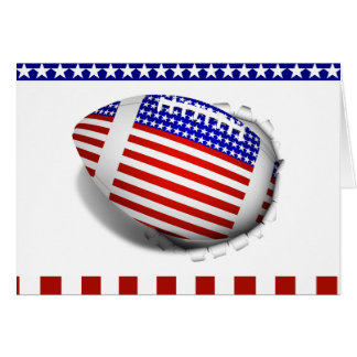 USA Football (1) Tear Away Card