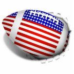 USA Football (1) Tear Away Cut Out