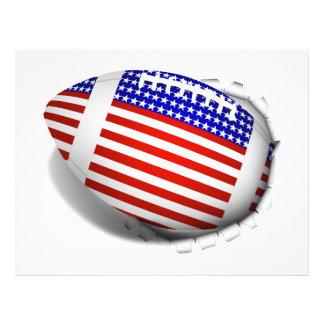 USA Football (1) Tear Away Flyer