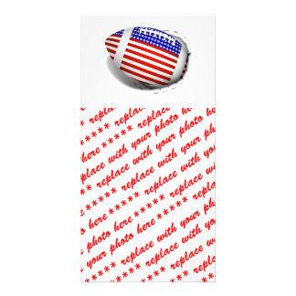 USA Football (1) Tear Away Photo Card