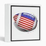 USA Football (1) Tear Away Vinyl Binders
