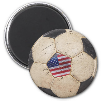 USA Football 2 Inch Round Magnet