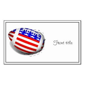 USA Football (2) Tear Away Business Card