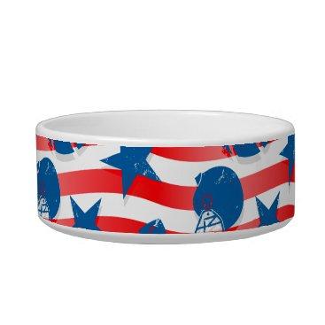 USA Themed USA football Bowl
