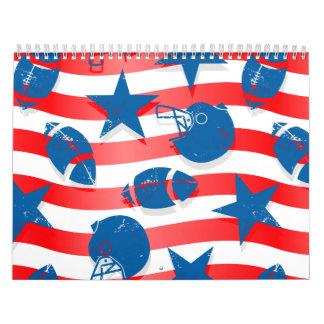 USA football Calendar