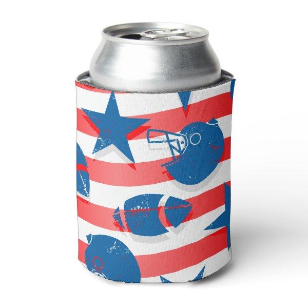 USA football Can Cooler