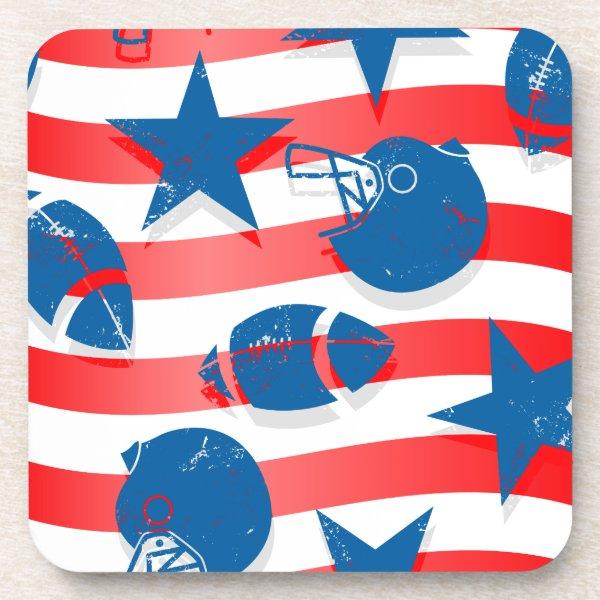 USA football Coaster
