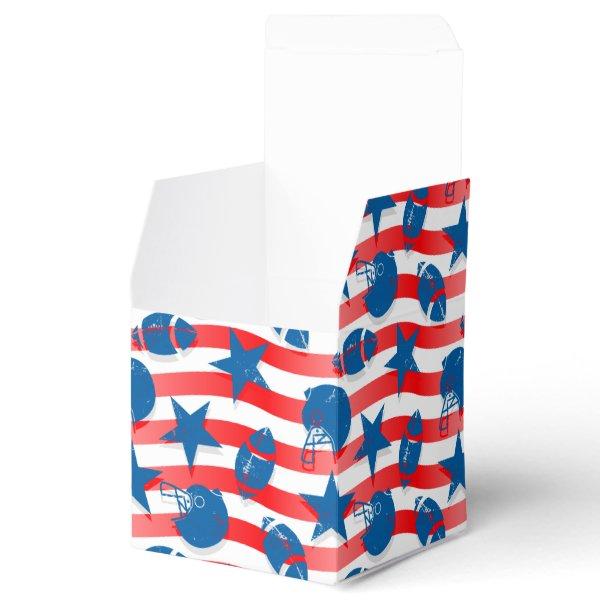 USA football Favor Box