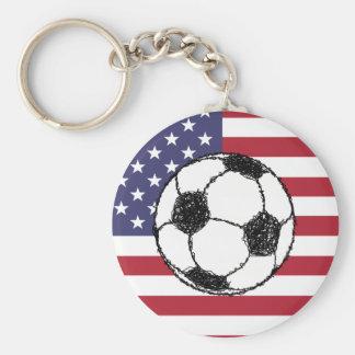 USA football Keychain