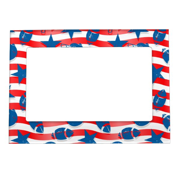 USA football Magnetic Photo Frame