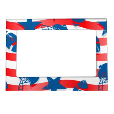 USA Themed USA football Magnetic Picture Frame
