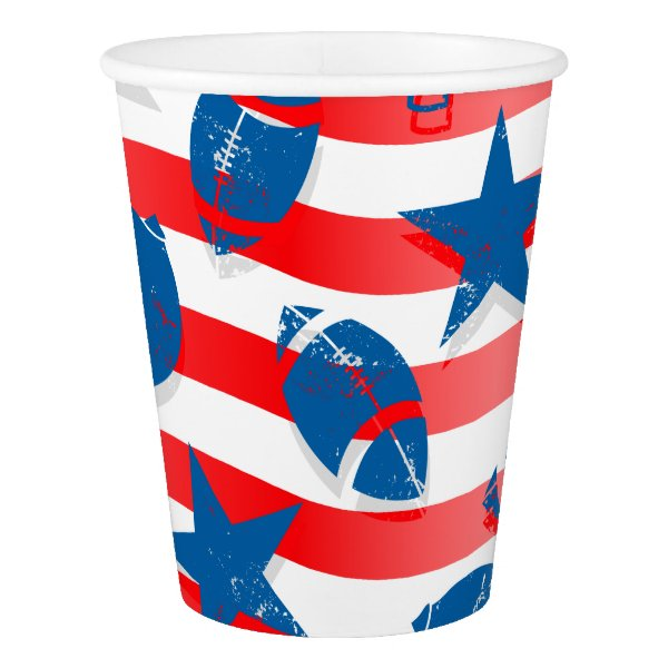 USA football Paper Cup