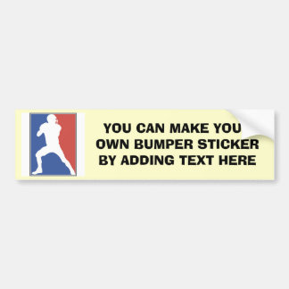 USA Football Player T-shirts and Gifts Bumper Sticker
