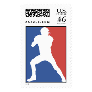 USA Football Player T-shirts and Gifts Stamp