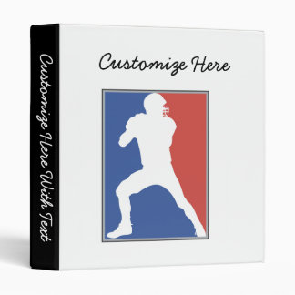 USA Football Player T-shirts and Gifts Vinyl Binders