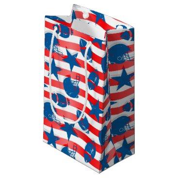 USA Themed USA football Small Gift Bag