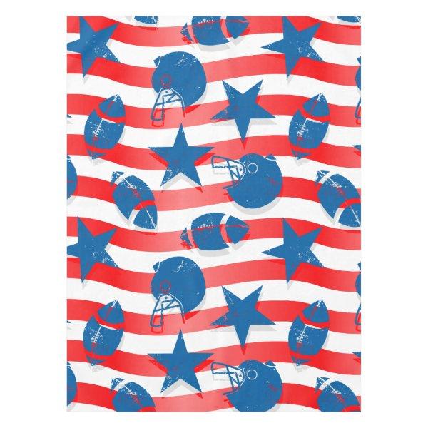 USA football Tablecloth