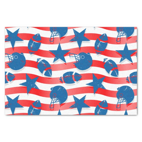 USA football Tissue Paper