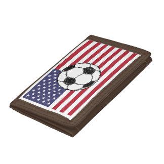 USA football Trifold Wallets