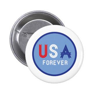 USA Forever Button