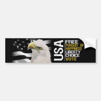 USA - Free Bumper Sticker