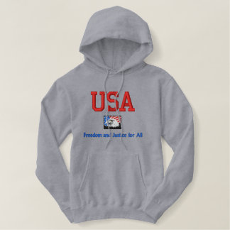 USA Freedom and Justice for all Sweat Shirt