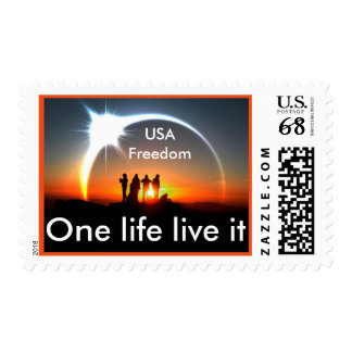 USA Freedom stamp..olli Stamp