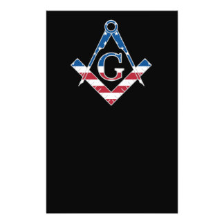 USA Freemasonic symbol Flyer