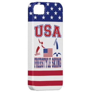 USA Freestyle Skiing iPhone SE/5/5s Case