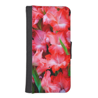 USA, Georgia, Savannah, Bouquet Of Gladiolus iPhone 5 Wallet