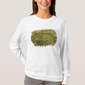 USA; Georgia; Savannah. Oak trees with T-Shirt