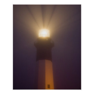 USA; Georgia; Savannah.  Tybee Island Lighthouse Poster
