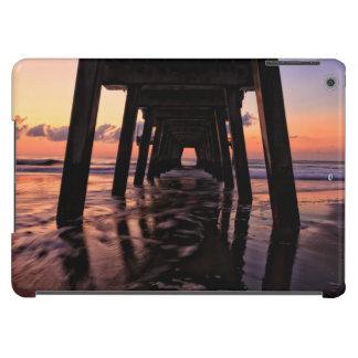 USA, Georgia, Tybee Island, Pier At Tybee Island Case For iPad Air