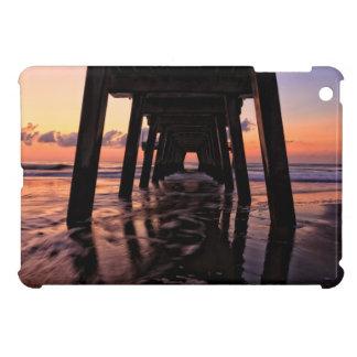 USA, Georgia, Tybee Island, Pier At Tybee Island Cover For The iPad Mini