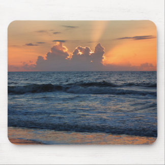 USA, Georgia, Tybee Island, Tybee Island Beach Mouse Pad