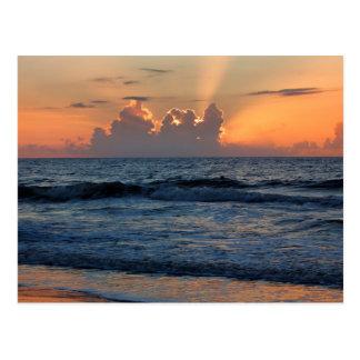 USA, Georgia, Tybee Island, Tybee Island Beach Postcard