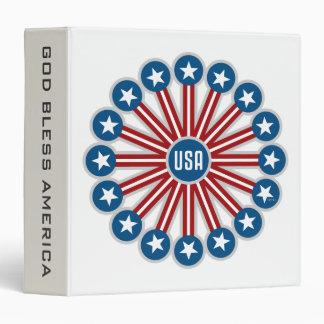 USA Graphic Design Binder