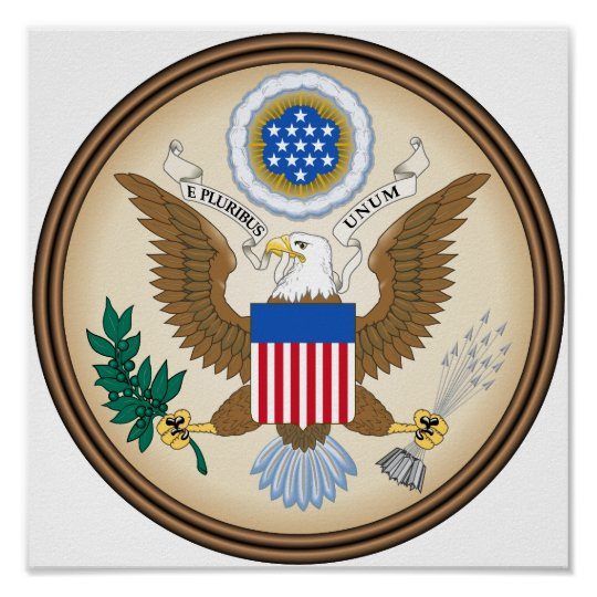 USA great seal Poster