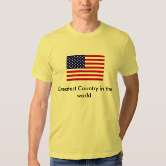 USA Greatest Country in the world T-shirt