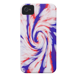 USA groovy patriotic abstract Case-Mate iPhone 4 Case