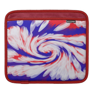 USA groovy patriotic abstract Sleeves For iPads