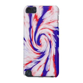 USA groovy patriotic abstract iPod Touch 5G Case