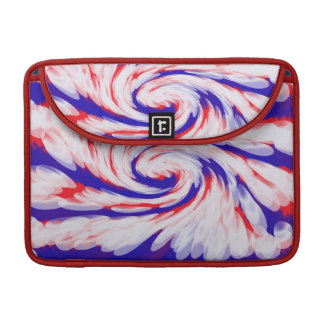 USA groovy patriotic abstract Sleeve For MacBooks